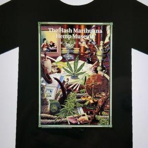 Hash Marihuana & Hip Museum men's t-shirt